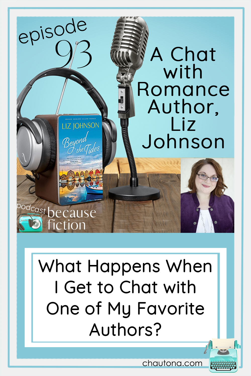 Liz Johnson and I finally sit down (okay, I was standing) and chat about her books, her inspiration, and the wonderful introductory book to her new series. via @chautonahavig