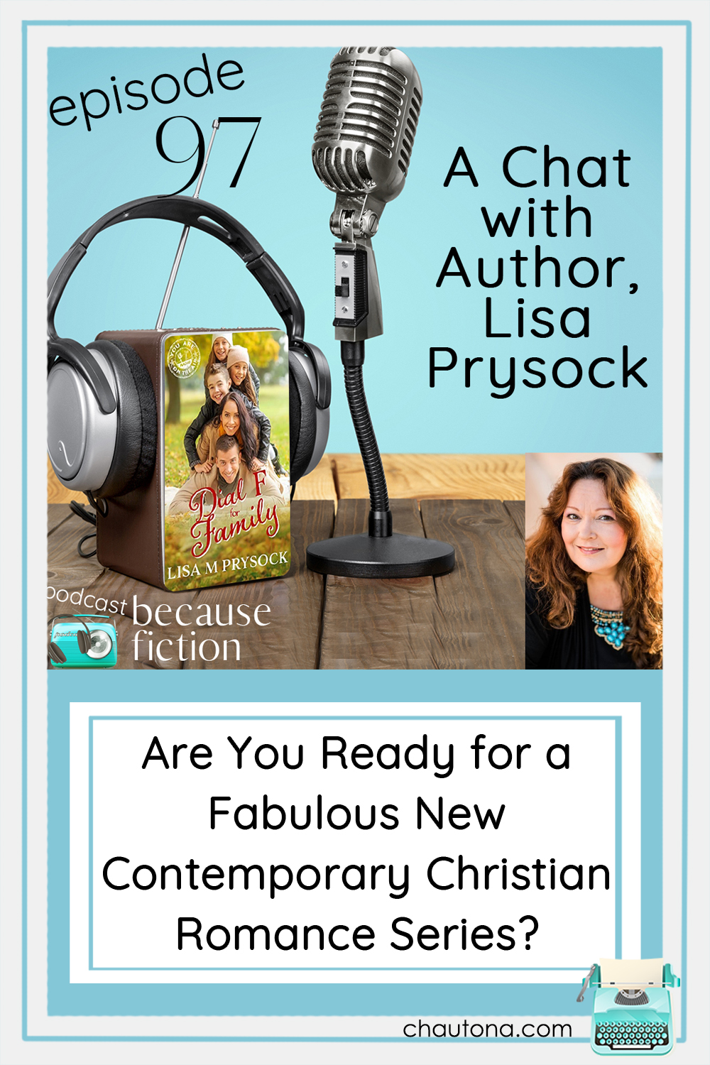 Lisa Prysock and I had a lovely chat about how she got started writing, what she's working on now, and her latest book, Dial F for Family. via @chautonahavig